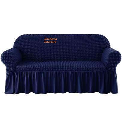 5 cushion couch Elastic Sofa cover image 2