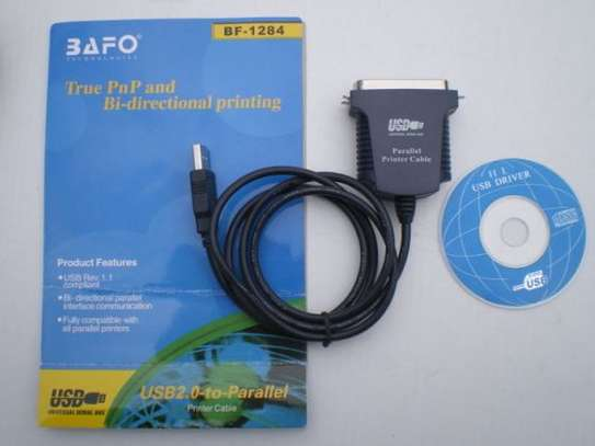 Bafo technologies, bf1284, usb to parallel adapter image 4