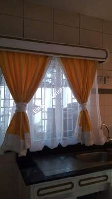 Elegant kitchen curtains image 10