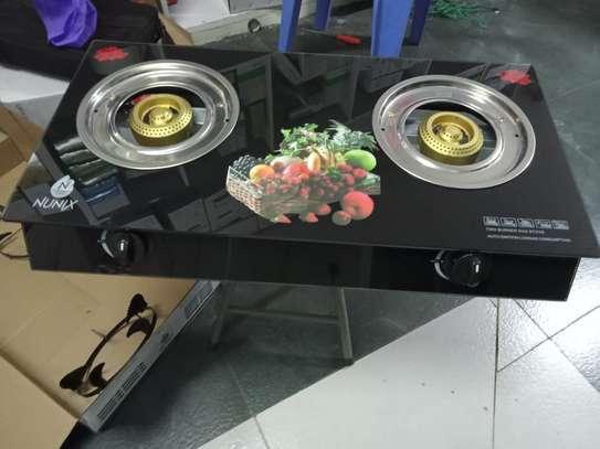 Nunix glass top cooker image 1