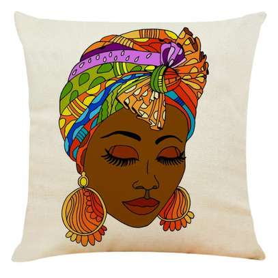 DECOR AFRICAN PRINT PILLOW CASES image 5