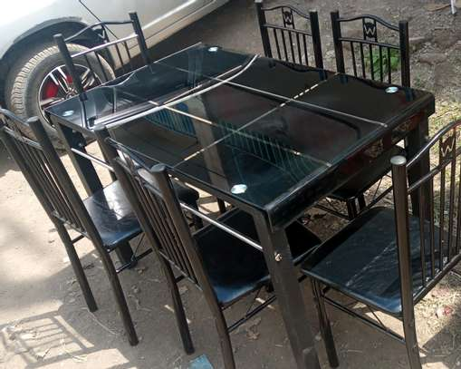 Best finishing dining table with chairs image 1