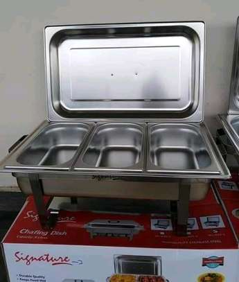 Chaffing dish/food warmer/cheffing dish/signature chaffing image 2