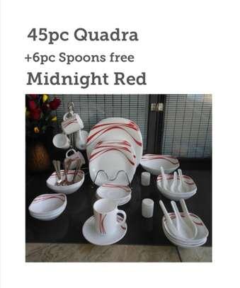 45pc quadra set +6 pc dinner spoons free image 3