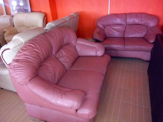 Leather Sofa (4 Seater) image 1