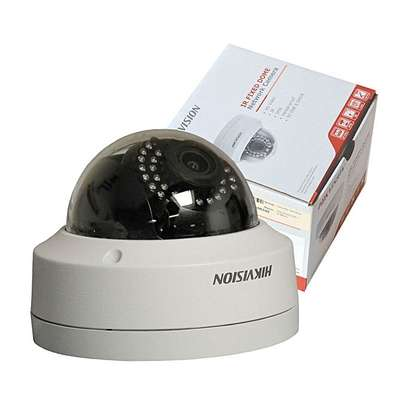 Hikvision Genuine English 4MP WDR Fixed Dome IP CCTV Camera