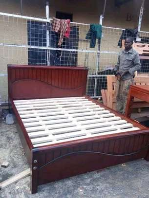 5*6 Hardwood bed