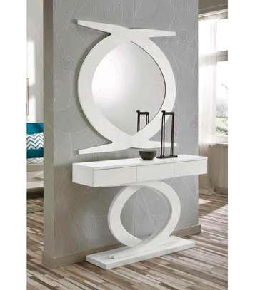 Console tables for sale in Nairobi Kenya/white console tables with mirror/quality console tables image 1