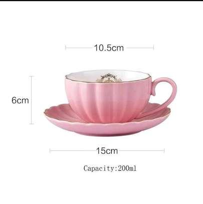 Ceramic coffee set image 3