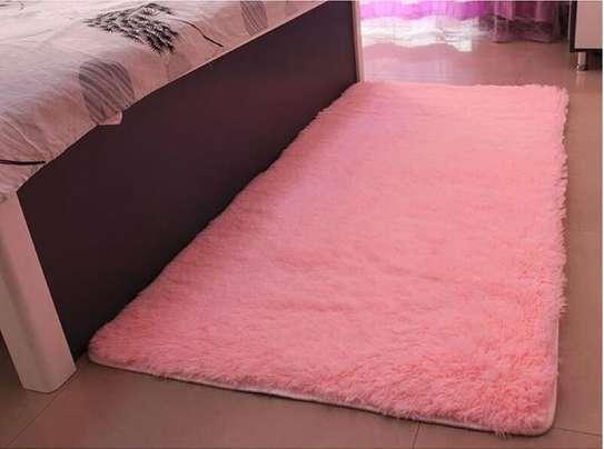 BED SIDE FLUFFY CARPET image 4