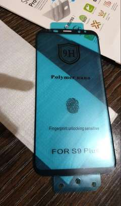 Ceramic Full 5D Glass Protector Flexible Anti-Break,Anti-Fingerprint for Samsung S9 S9 Plus image 1