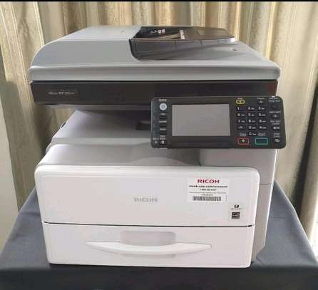High quality Ricoh mp301 photocopier machine, highly durable image 1