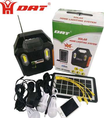 DAT AT-9028B Home solar lighting system image 1