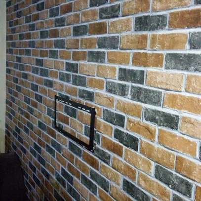 Bright surface self adhesive wallpaper image 3