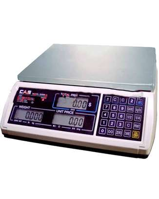 Computerized 30Kg Weighing Scale image 1