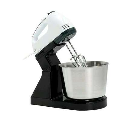 Speed Electric Hand Mixer With Bowl For Eggs & Soft Dough image 3