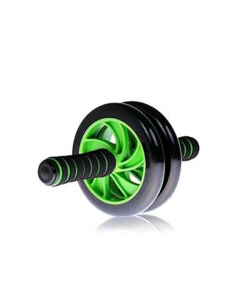 AB Wheel Double wheel Fitness Abs Roller with FREE mat image 5