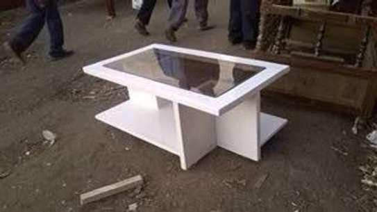 Glass Top Coffee Table image 2