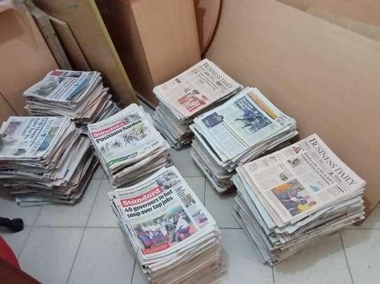 We Buy Old Newspapers(a kilo ksh 50) image 1