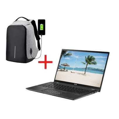 Asus ZenBook UX463 Intel Core I7 8GB RAM - 512 SSD Win10+ FREE ANTI-THEFT BAG+1 year warranty image 3