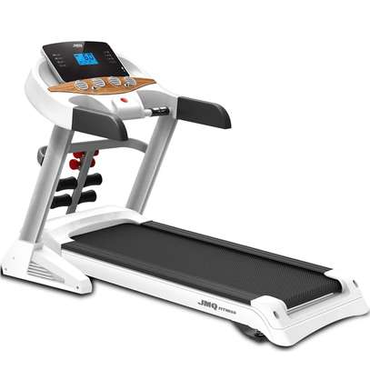 JMQ Semi-Commercial Treadmill with 15% incline image 1