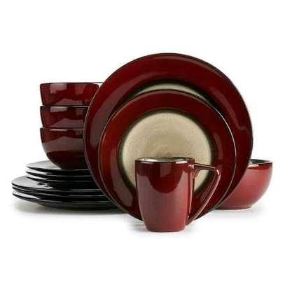 24 ceramic dinner set image 1