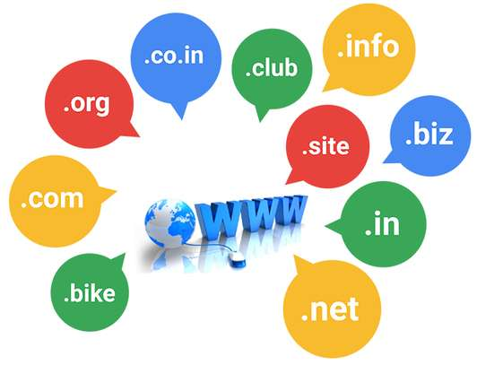 Domain registration and email hosting