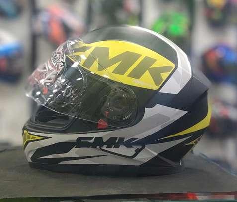 SMK Twister Logo Helmet image 2