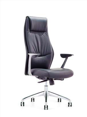 Hierarchy High Back Leather Office Chair image 1