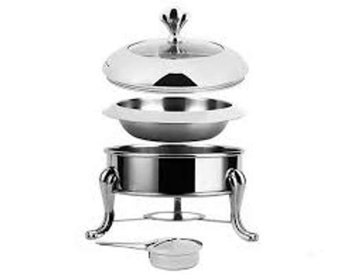 5 pc stainless steel food warmer set image 3