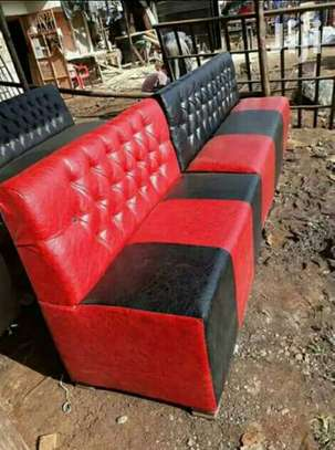 Restaurant /Fast foods booth /lounge seats image 5
