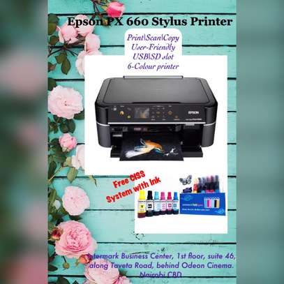 Epson Printer px660 image 1