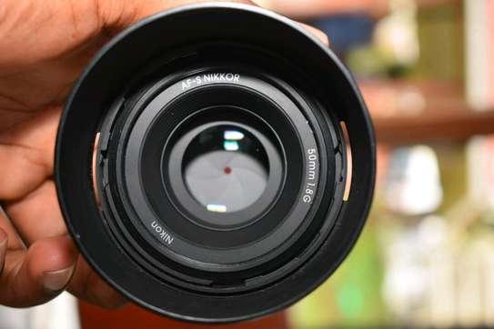 50mm f1.8G Nikon lens image 3