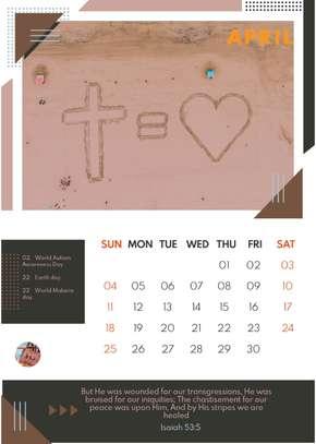 Bible Desk Calendars image 6