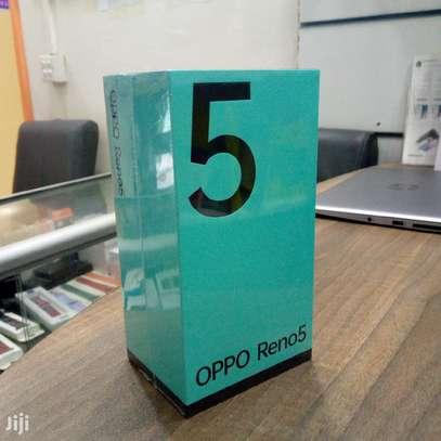 """Oppo Reno 5, 6.43"""", 128GB + 8GB RAM (Dual SIM), 5G _ Black image 1"""