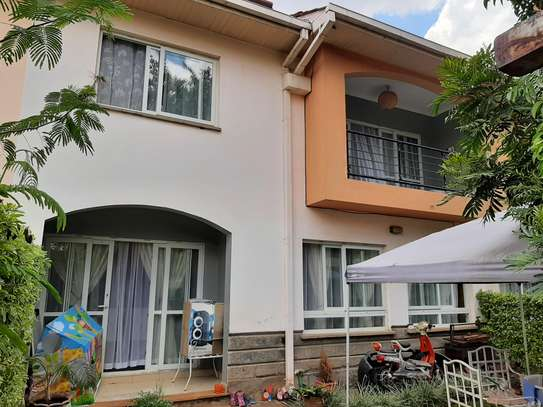 4 bedroom townhouse for rent in Langata Area image 16