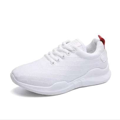 White ladies rubber shoes image 2