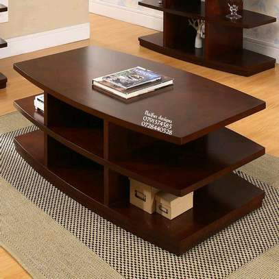 Modern coffee tables/coffee tables/wooden finish coffee table image 1