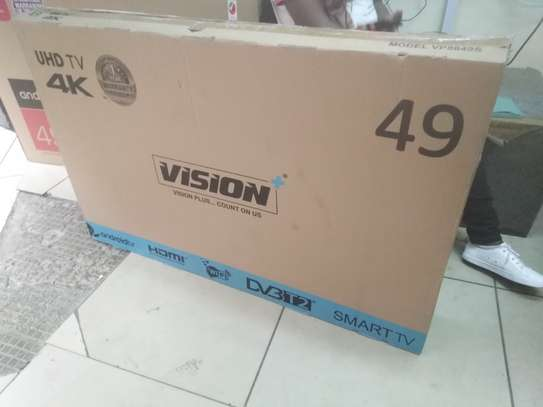 Vision digital smart android 4k 49 inches image 2
