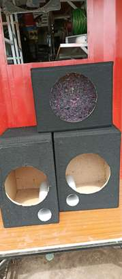 Car speakers cabinet all sizes image 1