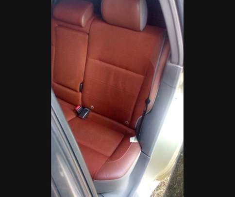 Car seat covers leather upholstery image 4