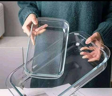 Rectangular baking tins image 1