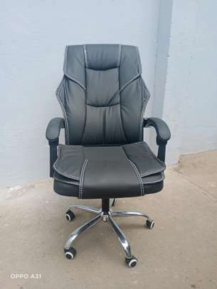 Recliner office chair image 1