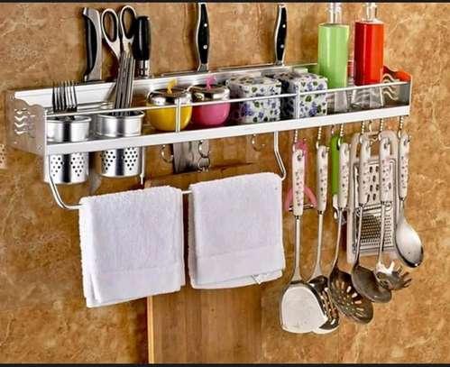 Wall mounted kitchen shelf image 3