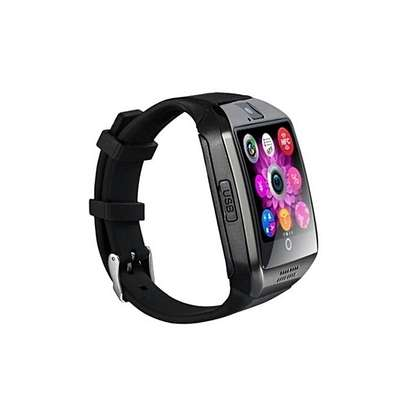 Smartwatch Q18 Smart Watch Phone - 0.8MP Camera – Single SIM - Silver/Black image 2