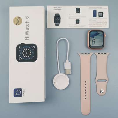 2021 NEW smart watch T500 pro 1.75 Inch Screen Series6 Hiwatch EGM Reloj Heart Rate Blood Pressure Monitor smartwatch image 1