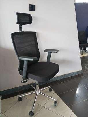 Office Chair: semi Orthopedic High Back image 1