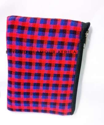 Red Maasai  Make Up Accessories Pouch image 1