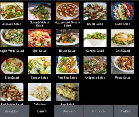 Restaurant point of sale POS Software web application