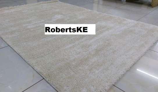 Turkish soft carpet  grey image 1